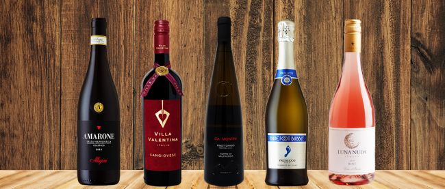 Photo for: Top 10 Italian Wines You Shouldn`t Miss in 2019